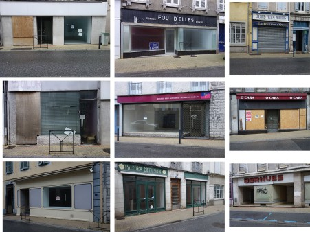 Friches commerciales rue Louis Barthou