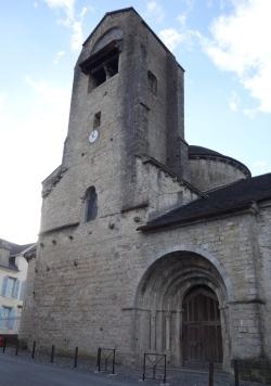Clocher actuel Église Sainte-Croix