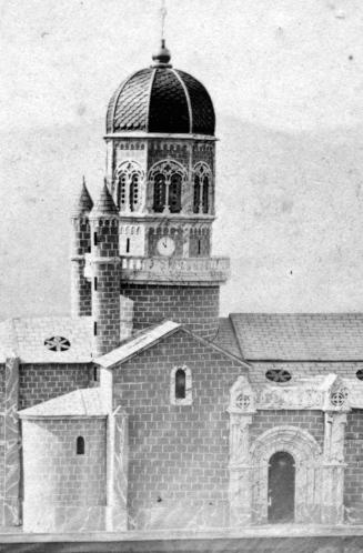 Maquette Clocher église Sainte-Croix