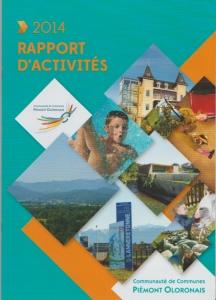 Rapport d'activités CCPO