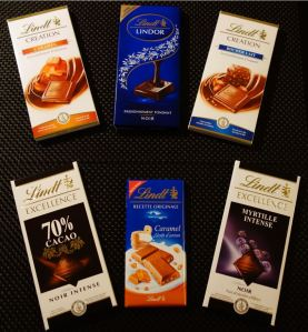 Tablettes Lindt