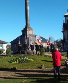 5 décembre au Monument aux morts