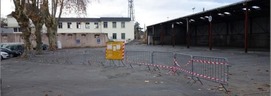 La Place du Foirail interdite