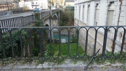 Les garde-corps du pont Sainte-Claire