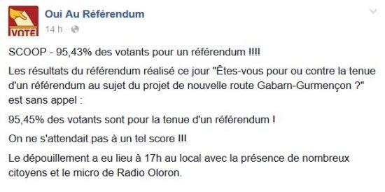Oui au référendum