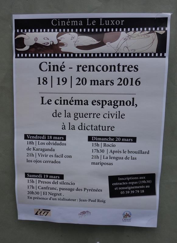 Rencontre cinéma espagnol