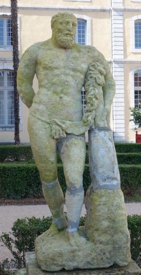 Sculpture ancien lycée