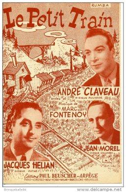 Le petit train André Claveau