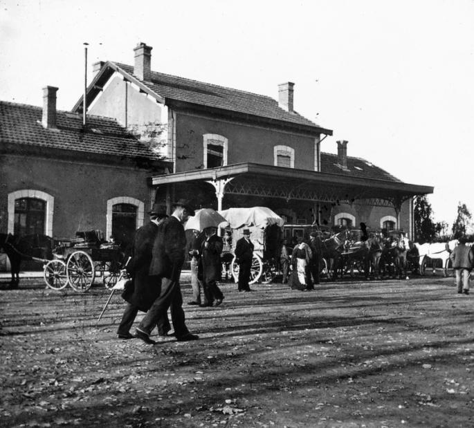 La gare d'Oloron