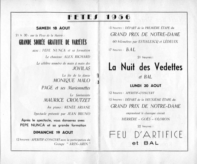 Programme fêtes Notre-Dame 1956007