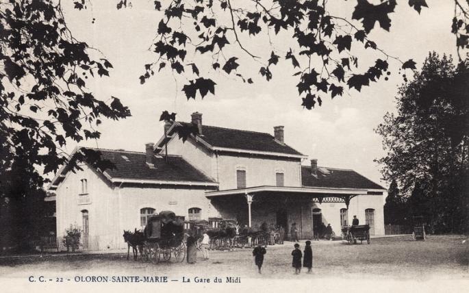 La gare du Midi-1