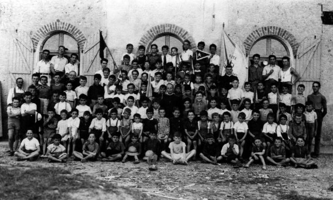 10 - Colonie de vacances JAO 1944