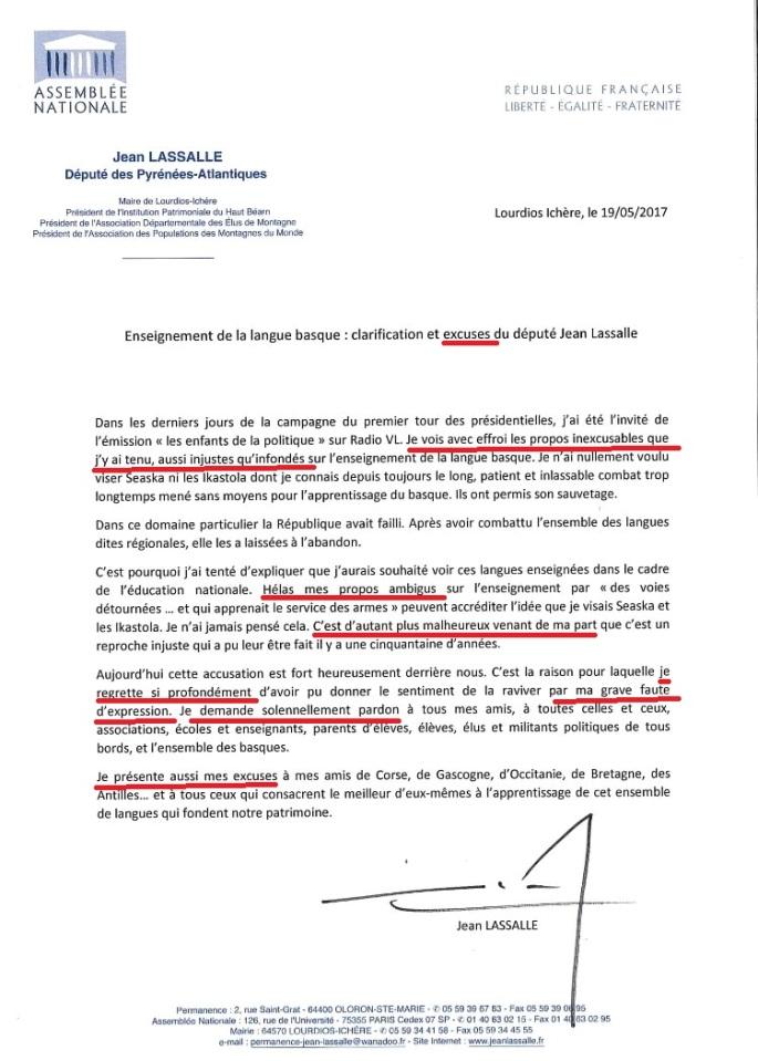 Les excuses de Jean Lassalle - Copie