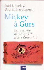 Livre Mickey à Gurs