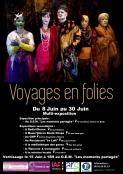 Exposition Voyages en Folies