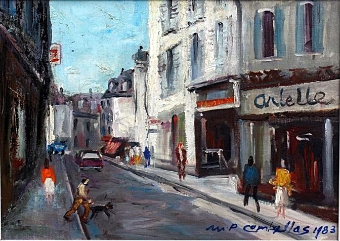 Oloron rue Louis-Barthou
