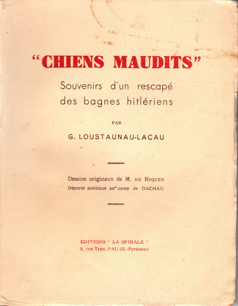 Couverture Chiens Maudits