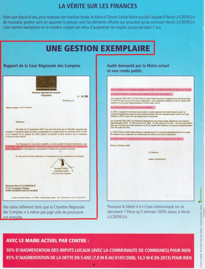 Courrier CRC 2008