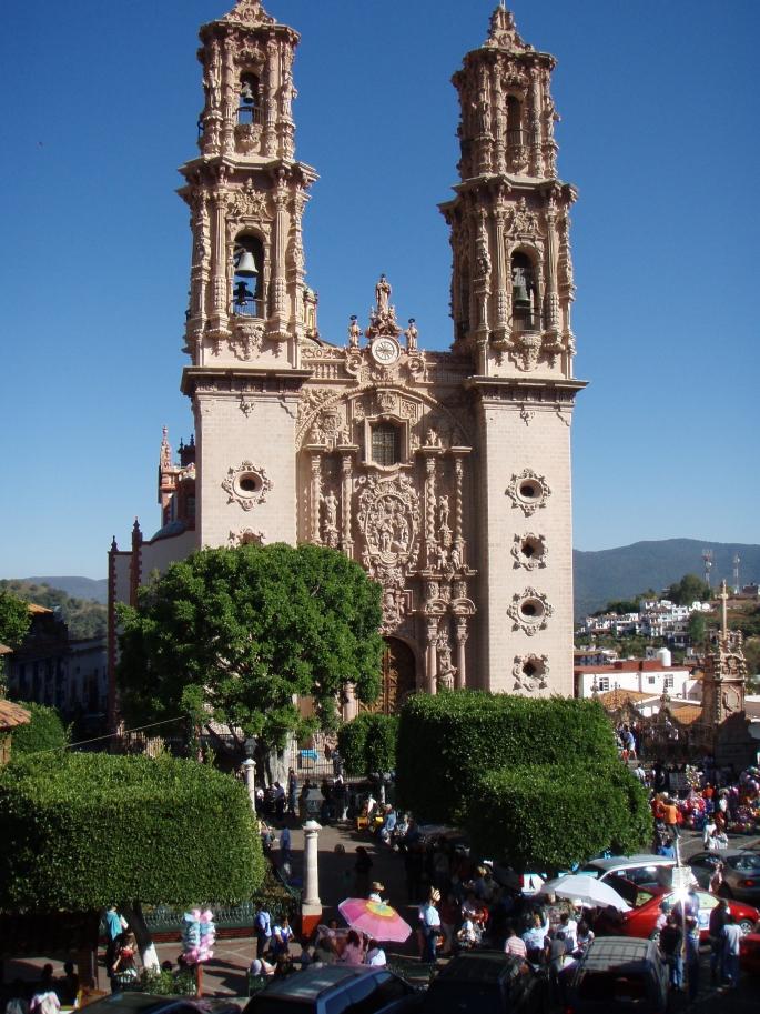 Église Santa Prisca à Taxco