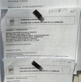 Lidl - permis de construire