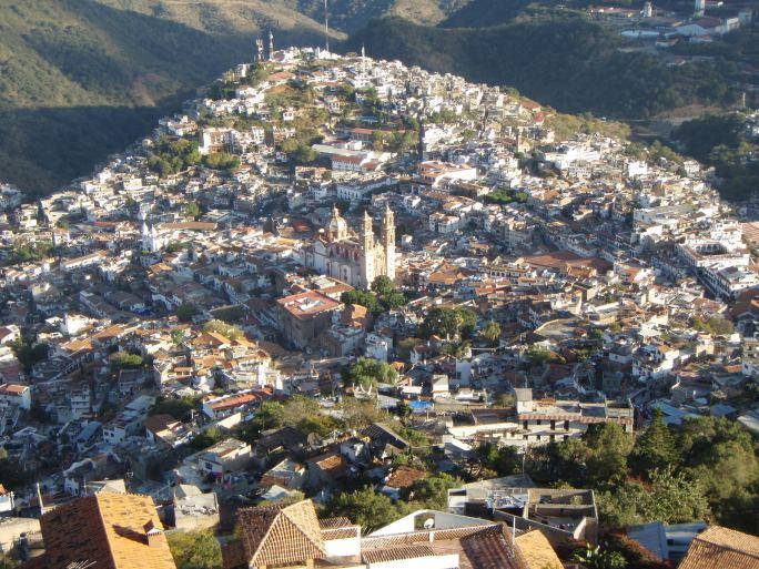 La ville de Taxco