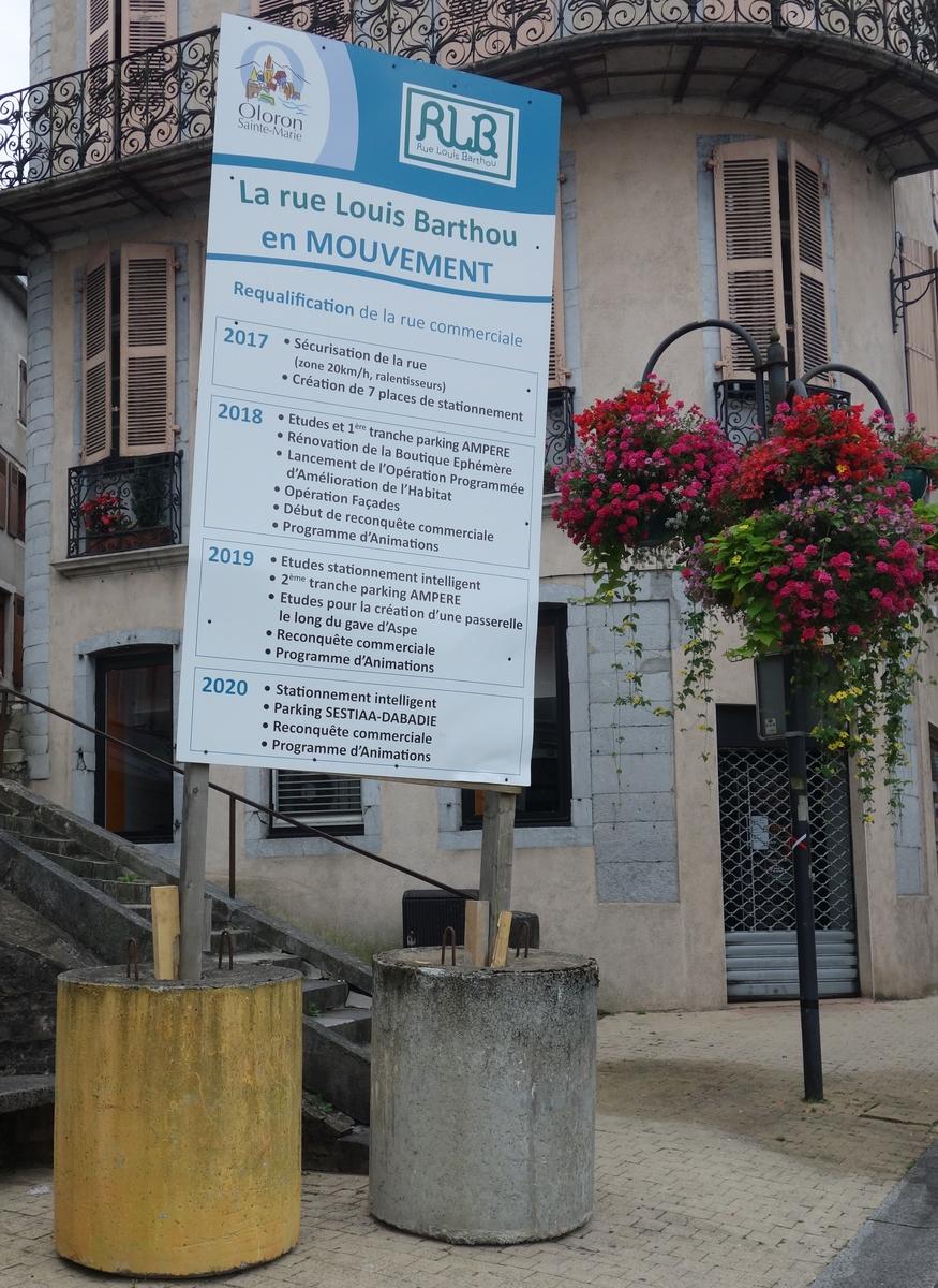 panneau rue Louis-Barthou