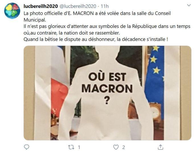 Décrochage - réaction Twitter Lucbéreilh